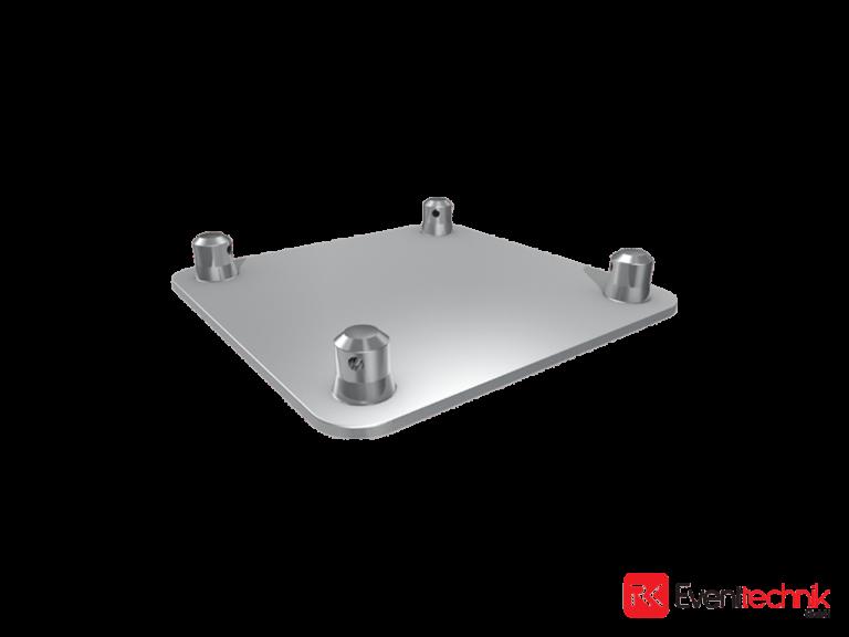Aluminiumplatte 300x300x5 mm für KV4