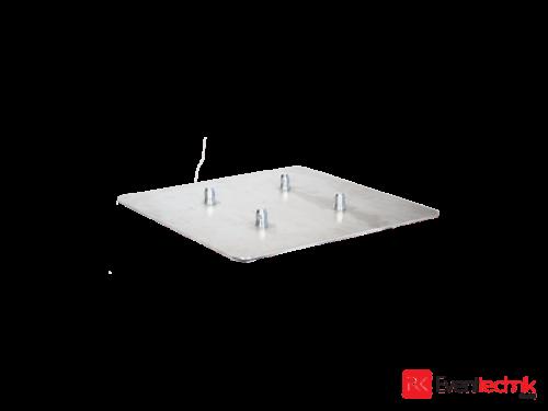 Aluminiumplatte 600x600x5 mm für KV4