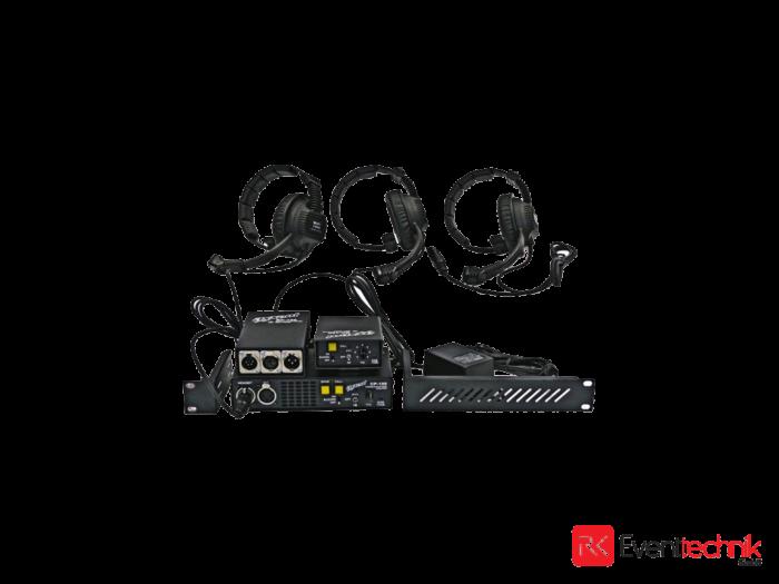 Axxent Intercom 3x Headset, 2x Beltpack, 1x Master