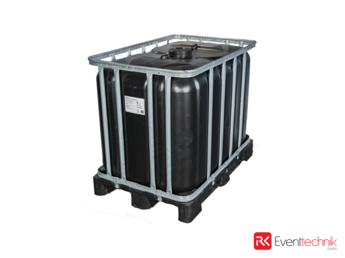 Ballasttank 640 l auf Kunststoffpalette