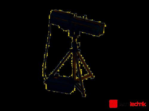 Coemar Testa 1200 MSR Verfolger Spot inkl. Stativ