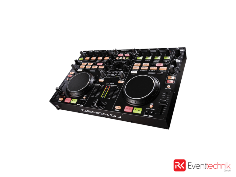 DJ Rack Denon MC-3000 inkl. Sennheiser EM100