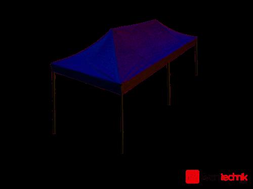 Flextent Pro Zelt weiß 6x4 Meter