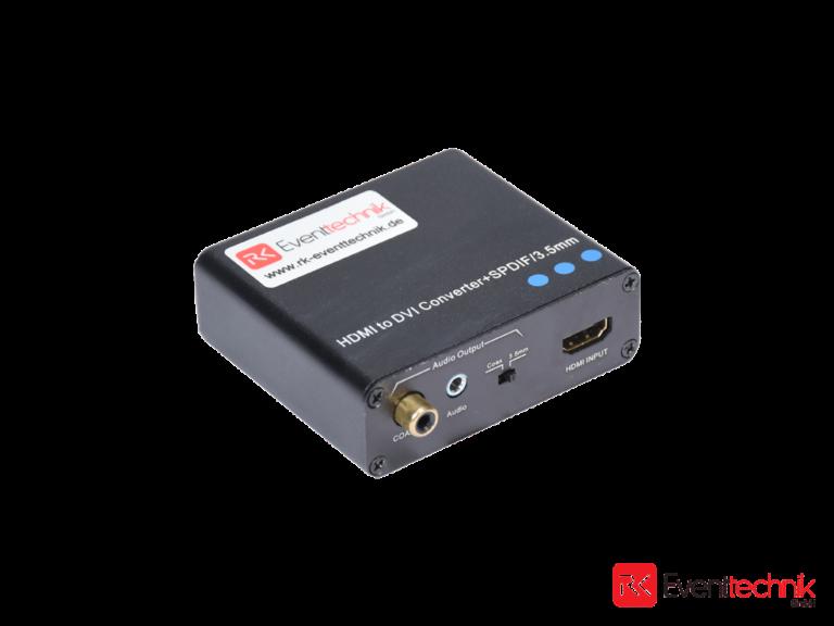 HDMI to DVI / Audio Splitter 3,5mm Klinke