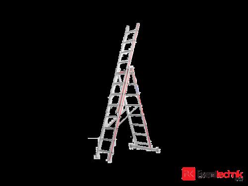 Hymer Alu-Leiter Arbeitshöhe 9 Meter