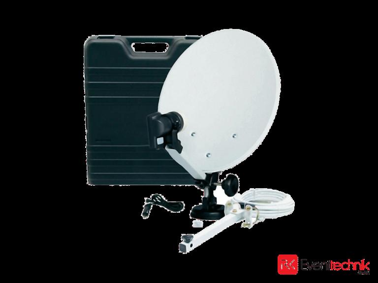 Mobile Satelittenschüssel DVB-S