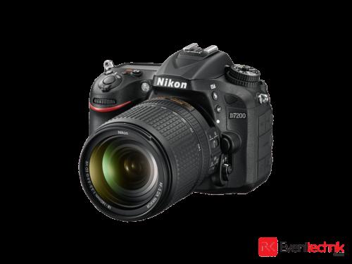 Nikon D7200 - Full HD Foto-Kamera