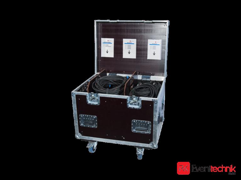 Schuko Kabelcase mit CEE Adapter